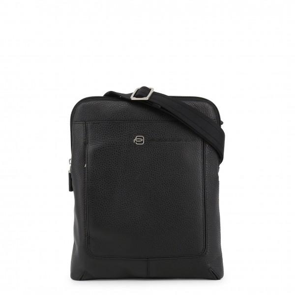 Pánská černá taška Piquadro na rameno