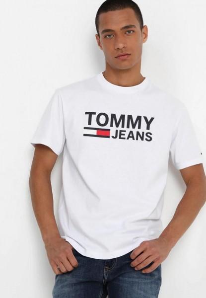 Pánská trička TOMMY JEANS 3 pack - bílá / černá / modrá (navy)