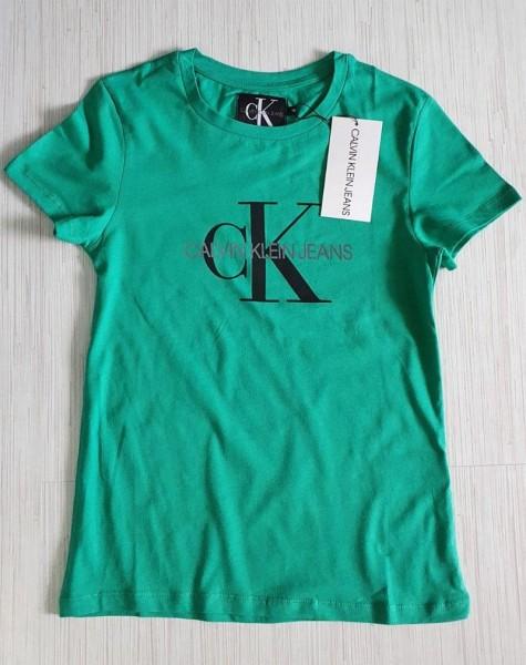 Dámské tričko Calvin Klein Jeans zelené