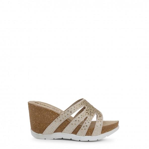 Dámské boty Inblu na klínku žluté