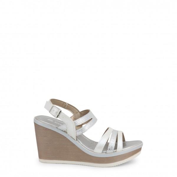 Boty na klínku Inblu dámské bílé