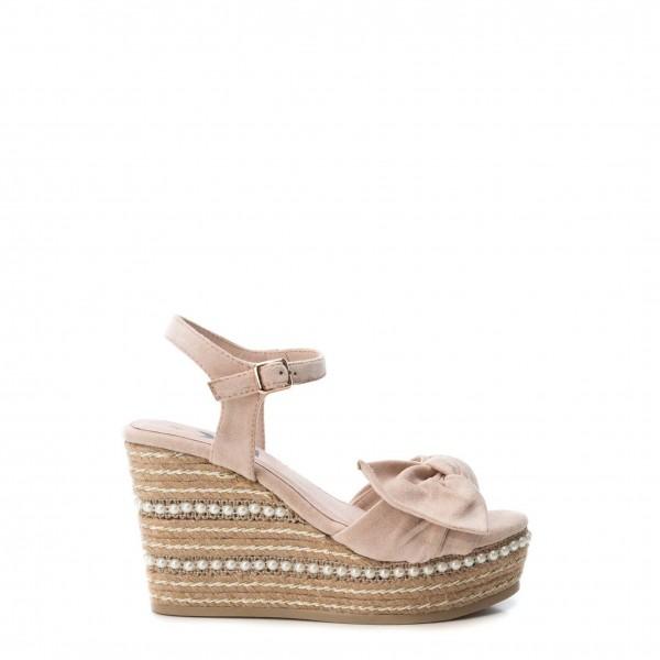 Růžové boty Xti dámské na klínku