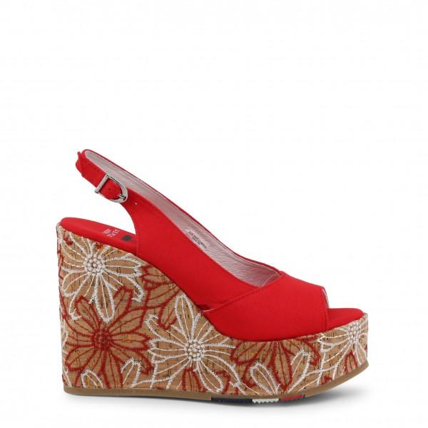 U.S. Polo Assn. červené boty na klínku