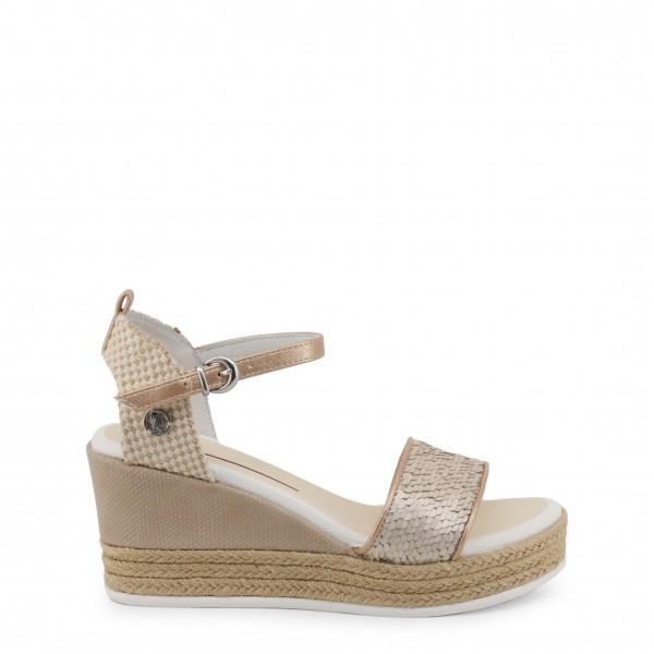 Hnědé boty na klínku U.S. Polo Assn. dámské