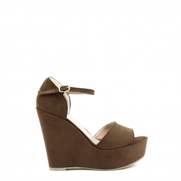 Dámské boty Made in Italia hnědé na klínku