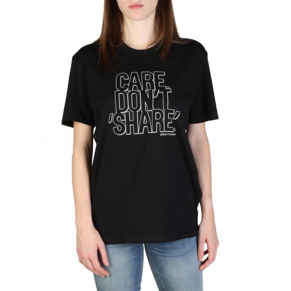 Dámské triko Armani Exchange černé