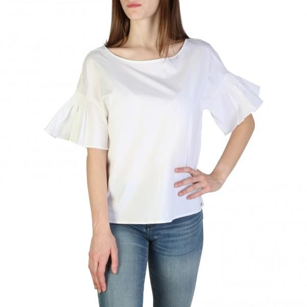 Dámské bílé triko Armani Exchange s volány