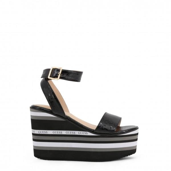 Dámské boty Guess na klínku černé