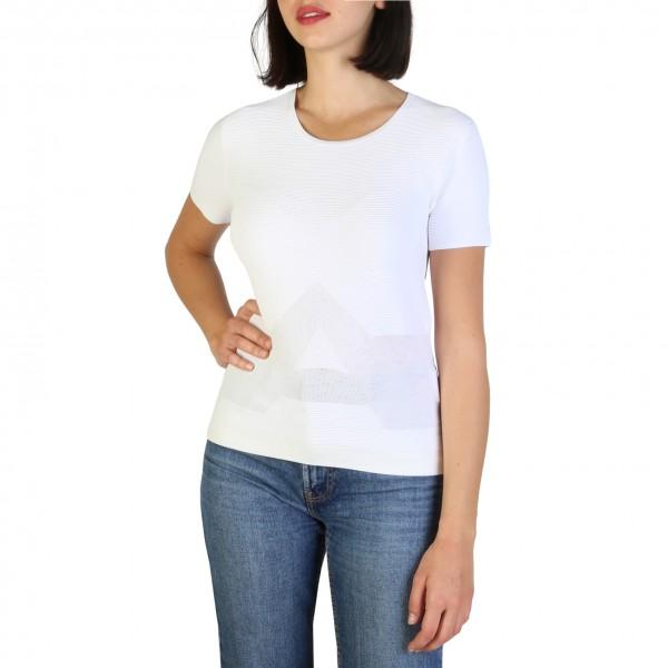 Bílé dámské Armani Jeans tričko s krátkým rukávem