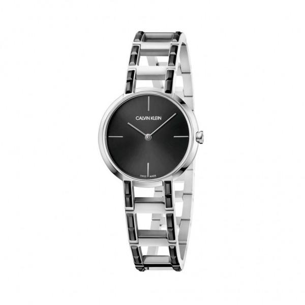 Elegantní dámské hodinky Calvin Klein stříbrné