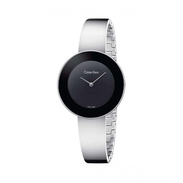 Stříbrné hodinky Calvin Klein dámské