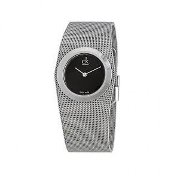 Stylové hodinky Calvin Klein stříbrné dámské