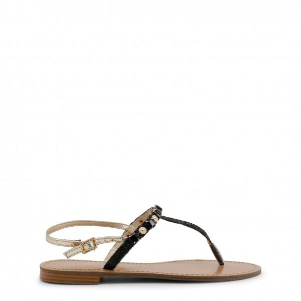 Dámské černé sandálky Versace Jeans