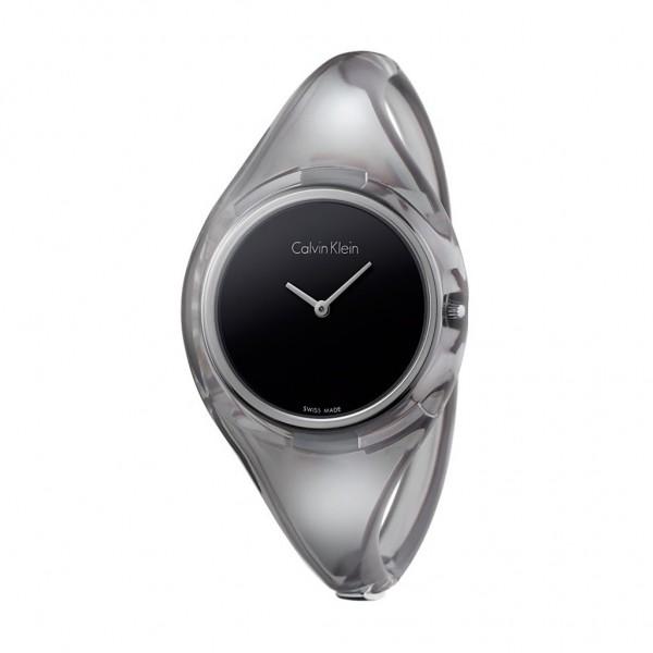 Černé dámské sportovní hodinky Calvin Klein
