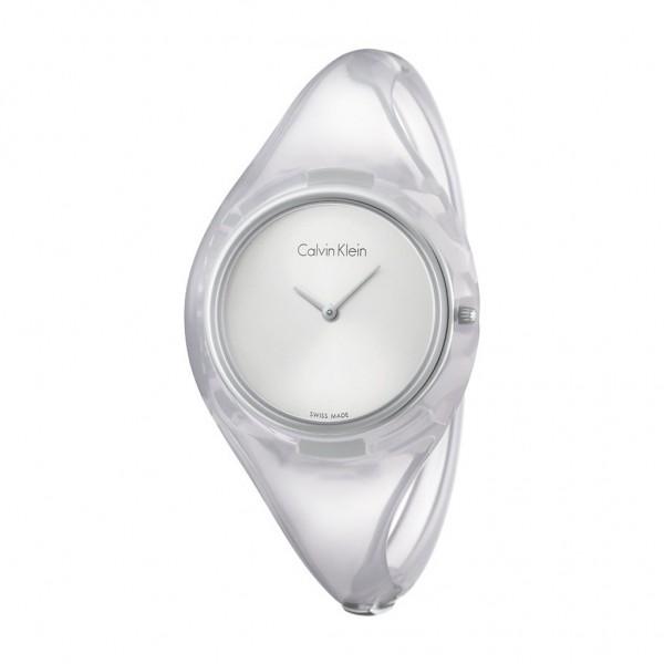 Sportovní šedé dámské Calvin Klein hodinky