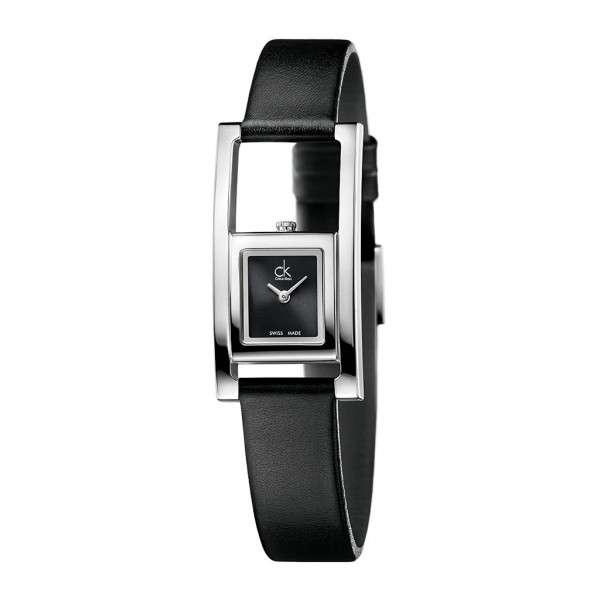 Elegantní černé hodinky Calvin Klein dámské