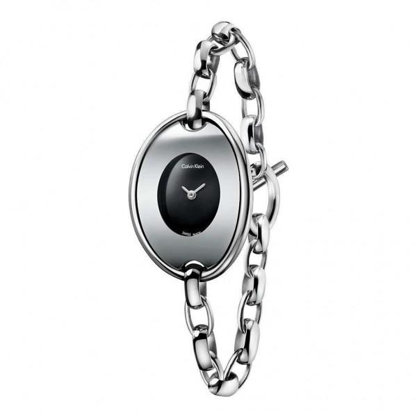 Elegantní hodinky Calvin Klein dámské stříbrné
