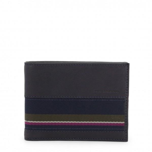 Pánská modrá peněženka Piquadro