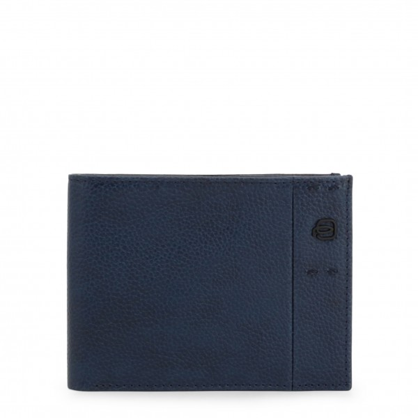 Piquadro kožená pánská modrá peněženka