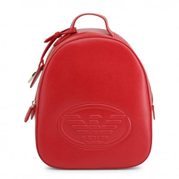 Elegantní batoh Emporio Armani červený dámský