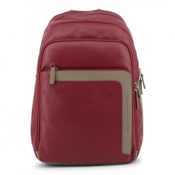 Pánský stylový batoh Piquadro červený