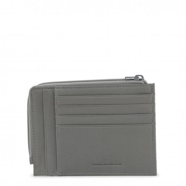 Šedá pánská peněženka Piquadro