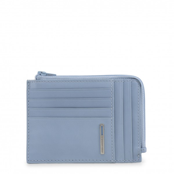 Kožená pánská modrá peněženka Piquadro