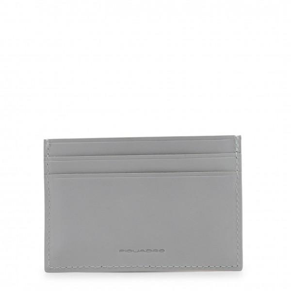 Kožená peněženka Piquadro pánská šedá