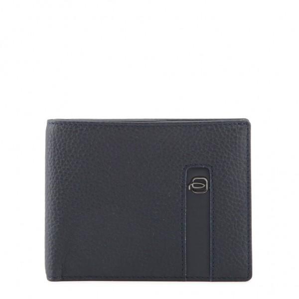 Modrá peněženka Piquadro pánská