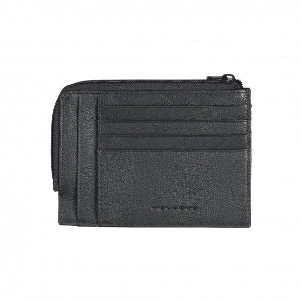 Piquadro černá kožená pánská peněženka
