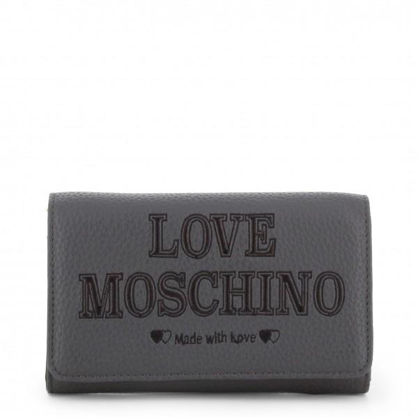 Psaníčko Love Moschino dámské šedé