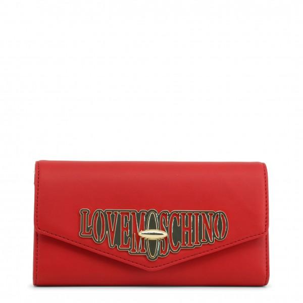 Love Moschino červené psaníčko dámské