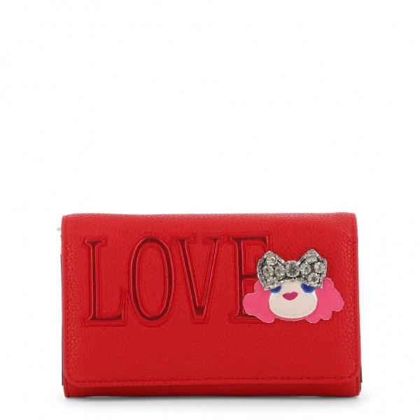 Červené psaníčko Love Moschino dámské