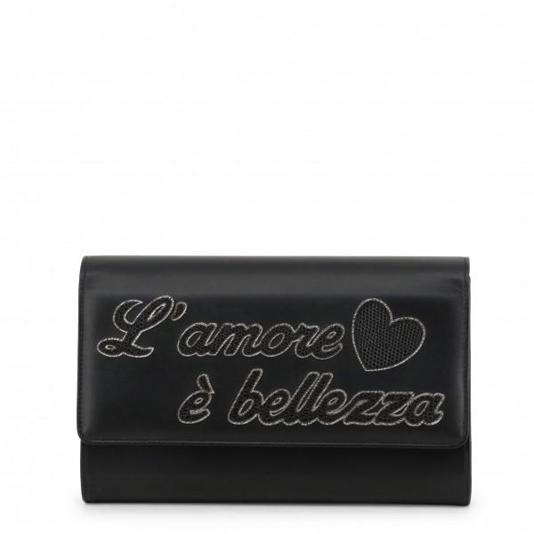 Kožené černé psaníčko Dolce&Gabbana dámské