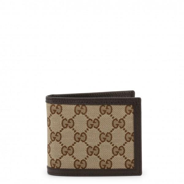 Hnědá pánská peněženka Gucci