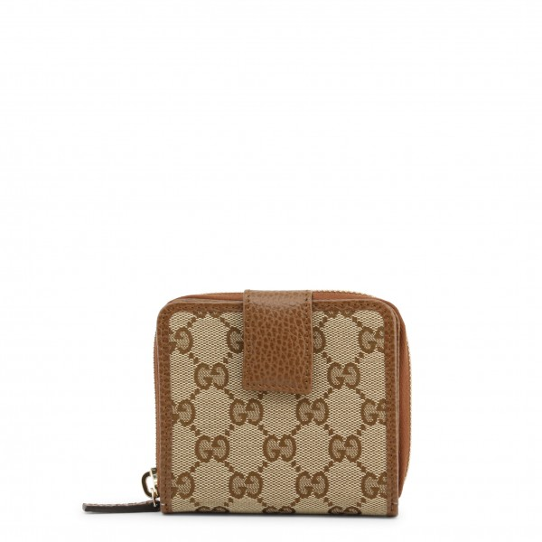 Dámská peněženka Gucci hnědá s logem
