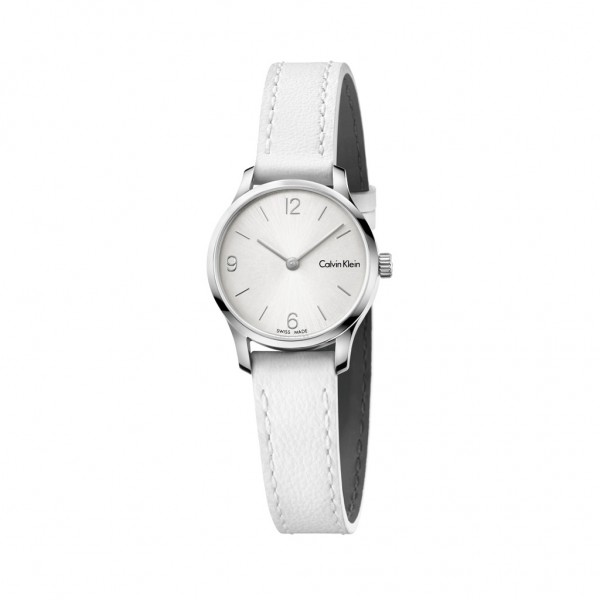 Calvin Klein bílé dámské stylové hodinky