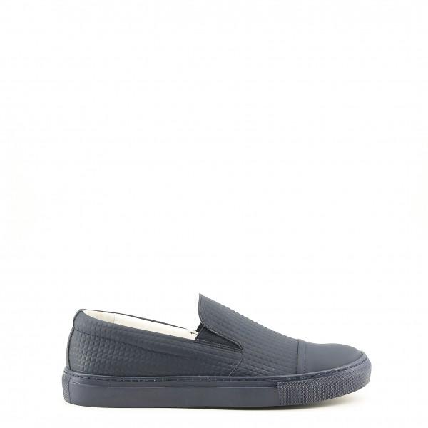 Modré pánské boty Made in Italia