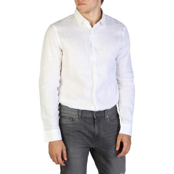 Pánská košile Armani Exchange bílá