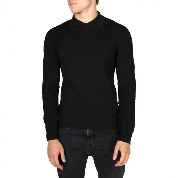 Černý svetr Emporio Armani pánský