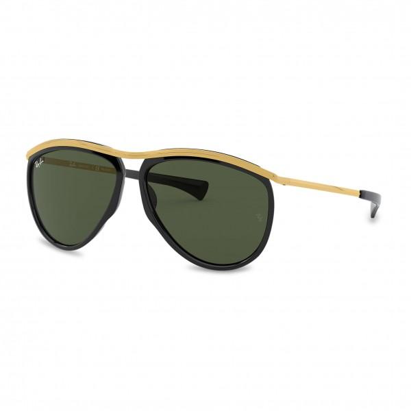 Elegantní sluneční brýle Ray-Ban černé unisex