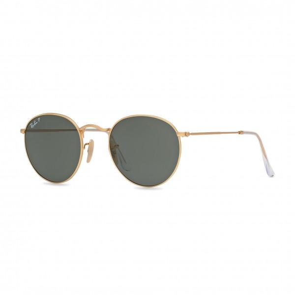 Sluneční brýle Ray-Ban kulaté zlaté unisex