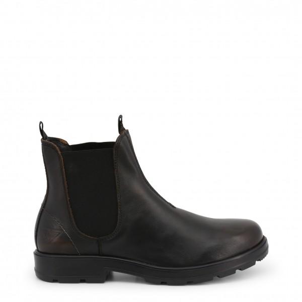 Kotníkové boty Docksteps JASPER černé pánské