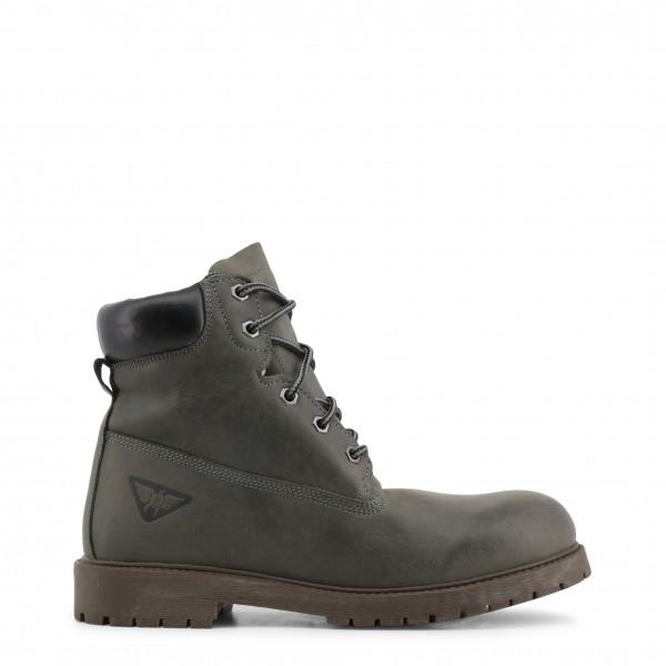 Pánské šedé kotníkové boty Docksteps ROCCIA-BOOT