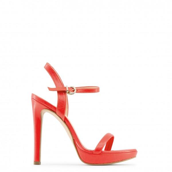 Červené dámské boty Made in Italia MARCELLA