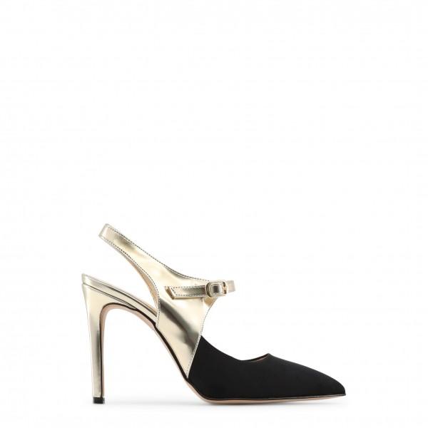 Dámské boty Made in Italia CECILIA černo/zlaté