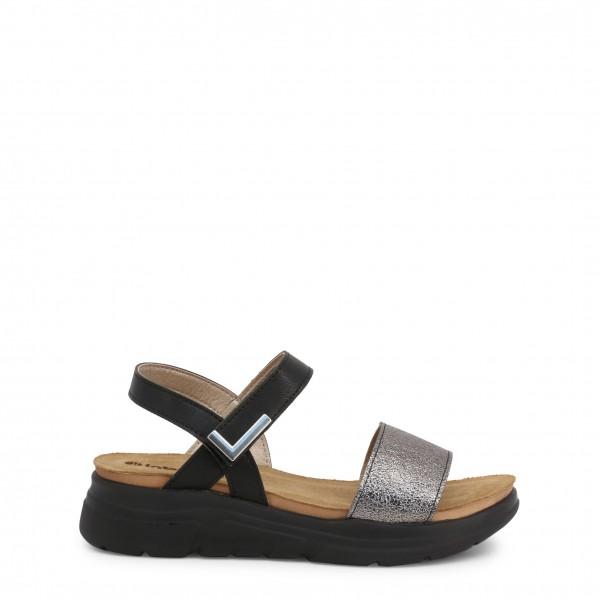 Dámské sandály Inblu šedo/černé