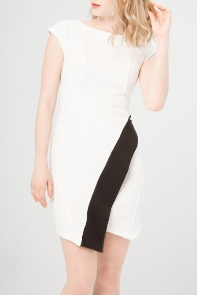 Bílé šaty Fontana dámské