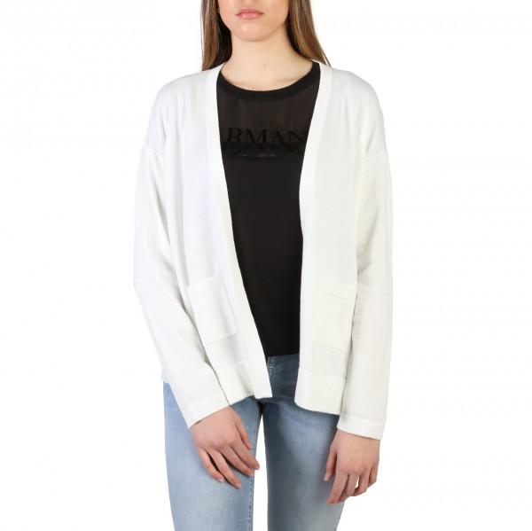 Armani Jeans dámský bílý svetr bez zapínání