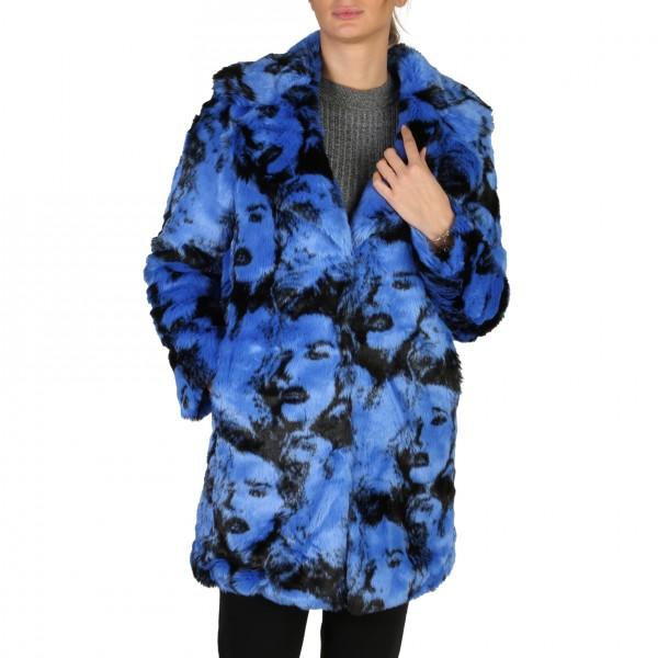 Modrý Guess dámský kabát
